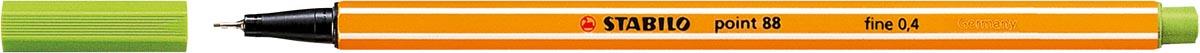 Fineliner Stabilo Point 88-33 appelgroen