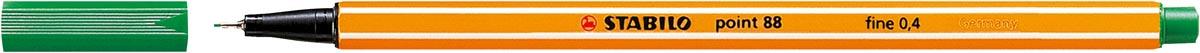STABILO point 88 fineliner, donkergroen