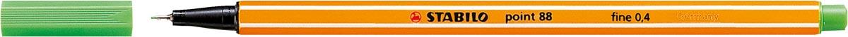STABILO point 88 fineliner, lichtgroen