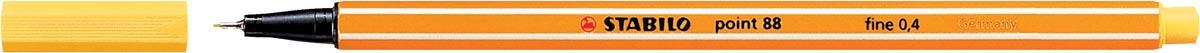 STABILO point 88 fineliner, geel