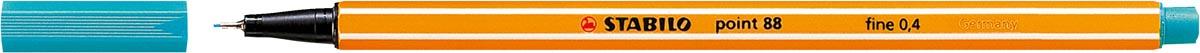 STABILO point 88 fineliner, turkoois