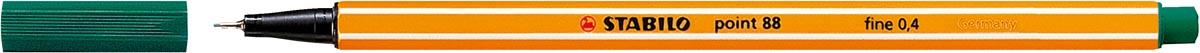 STABILO point 88 fineliner, dennengroen