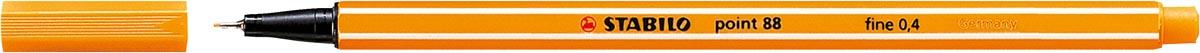 STABILO point 88 fineliner, oranje
