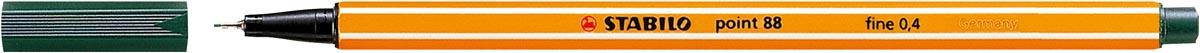 STABILO point 88 fineliner, olijfgroen
