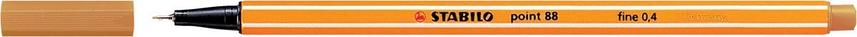 Fineliner Stabilo Point 88-89 donkergeel
