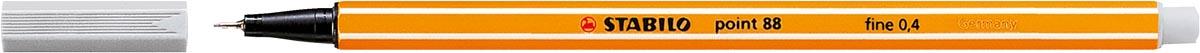 STABILO point 88 fineliner, lichtgrijs