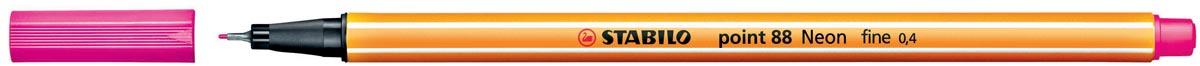 STABILO point 88 fineliner, fluorood