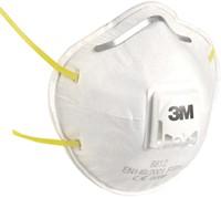 3M fijnstofmasker met uitademventiel, beschermingsgraad FFP1, blister van 2 stuks