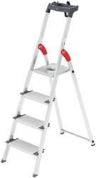 Hailo ladder Profiline S 150 XXL, 4 treden