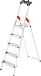 Hailo ladder Profiline S 150 XXL, 5 treden