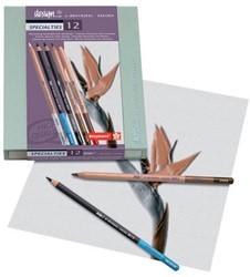 Bruynzeel Design kleurpotlood Specialty, doos met 12 stuks