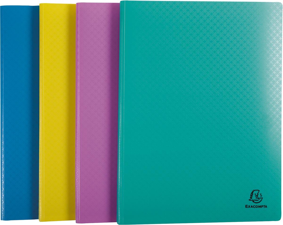 Exacompta showalbum Forever Young, 40 tassen, geassorteerde kleuren