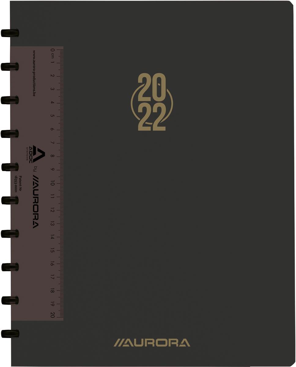 Adoc agend-ex Plan-a-Week , geassorteerde kleuren, 2022