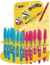 Bic Roller Easy Decor, display met 24 stuks in geassorteerde kleuren
