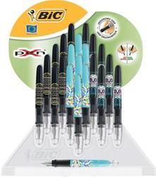 Bic vulpen X-Pen Décor, display van 22 stuks