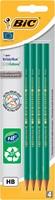 Bic potlood Evolution 650 HB, blister van 4 stuks