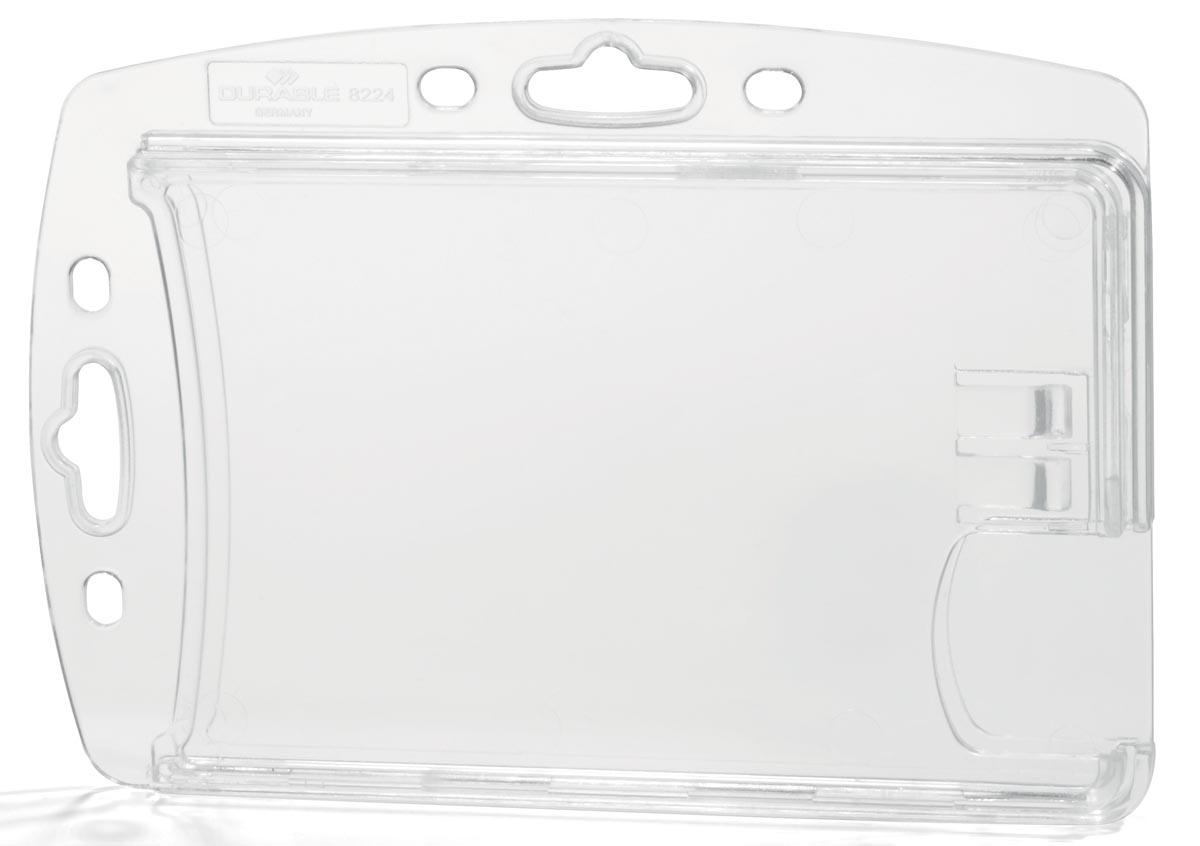 Durable kaarthouder, ft 54 x 85 mm, doos van 10 stuks