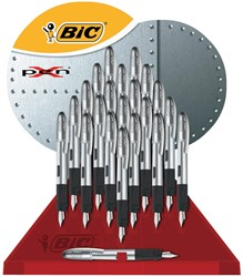 Bic Select vulpen X-pen display van 22 stuks, chroom