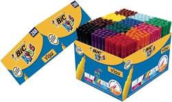 Bic Kids viltstift Visa 288 stiften (classpack: 240 + 48 gratis)