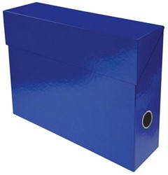 Exacompta Iderama opbergdoos, ft A4, 9 cm, donkerblauw