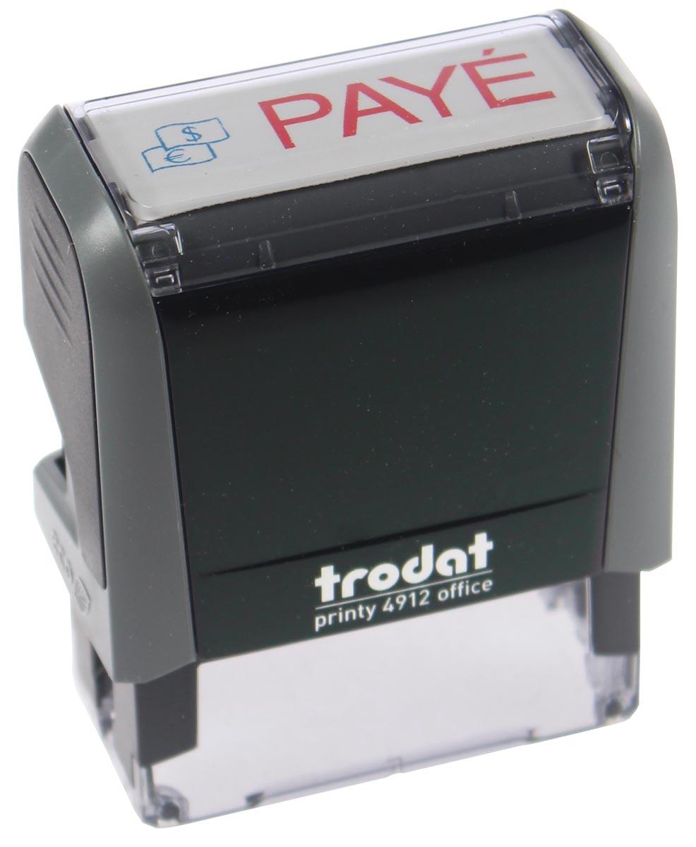 Trodat tekststempel Printy Line tekst: PAYE