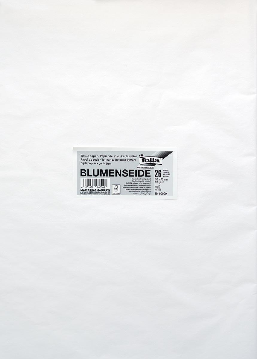 Folia zijdepapier wit