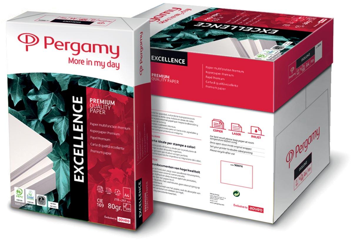 Pergamy Excellence printpapier ft A4, 80 g, pak van 500 vel