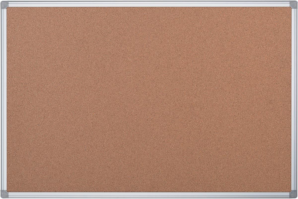 Pergamy kurkbord met aluminium frame ft 90 x 120 cm