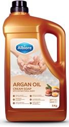 Albiore hand- en lichaamszeep met arganolie, flacon van 5 l