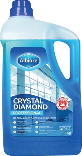 Albiore glasreiniger Crystal Diamond, flacon van 5 l