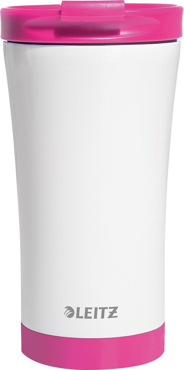 Leitz WOW Thermos koffiebeker, inhoud 380 ml, roze