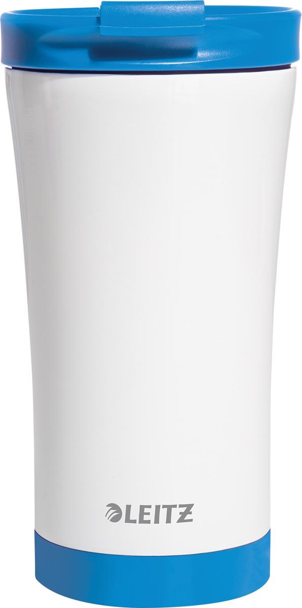 Leitz WOW Thermos koffiebeker, inhoud 380 ml, blauw