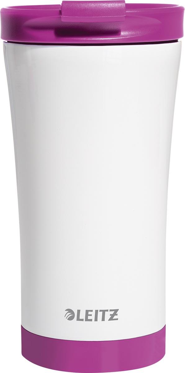 Leitz WOW Thermos koffiebeker, inhoud 380 ml, paars