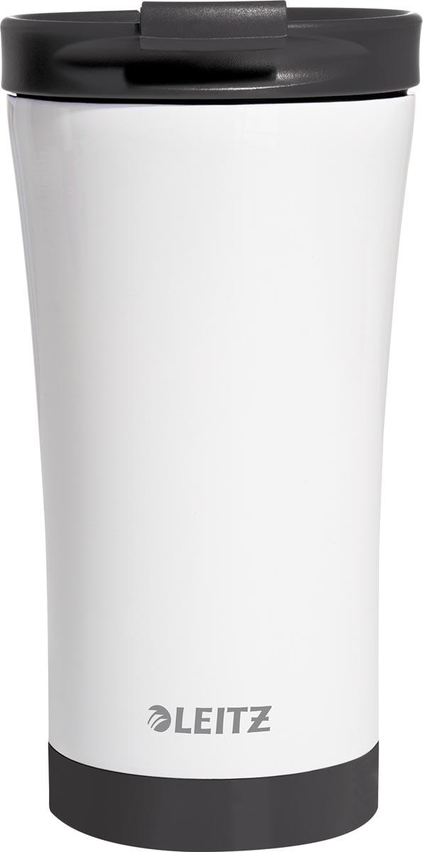 Leitz WOW Thermos koffiebeker, inhoud 380 ml, zwart