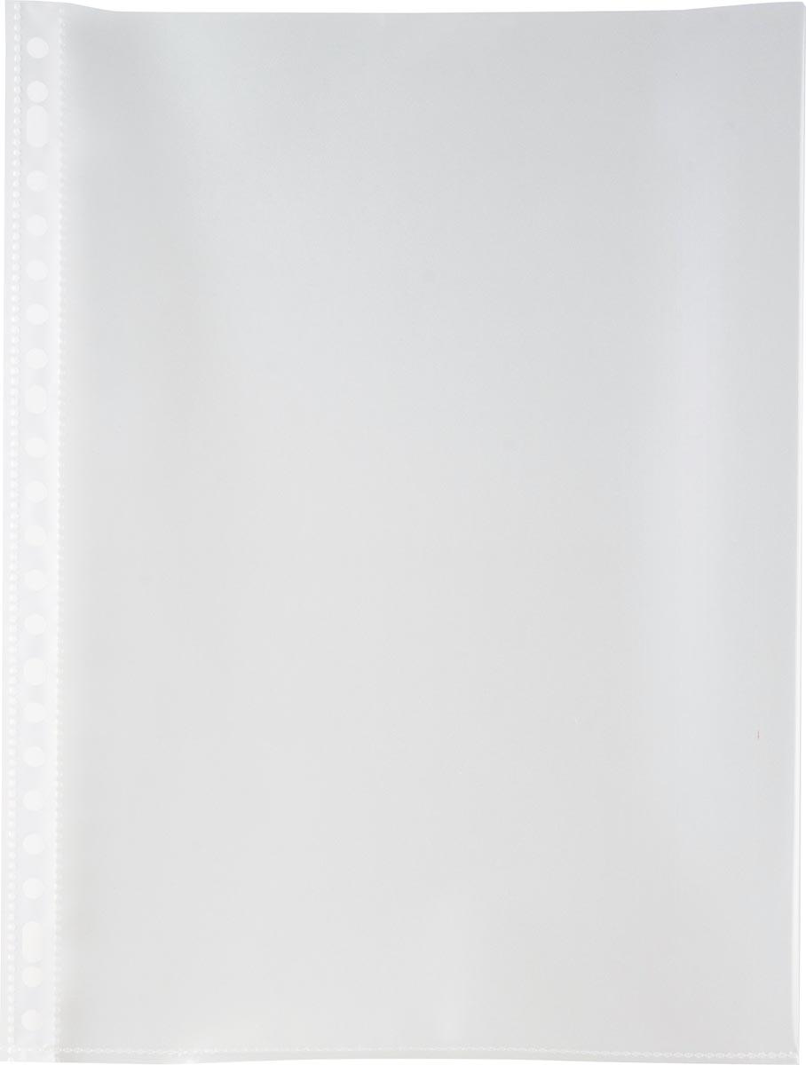 Pergamy geperforeerde showtas, A4, 23-gaatsperforatie, glasheldere PP van 90 mciron, doos van 100 st