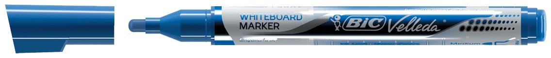 Velleda Whiteboardmarker Liquid Ink Pocket blauw