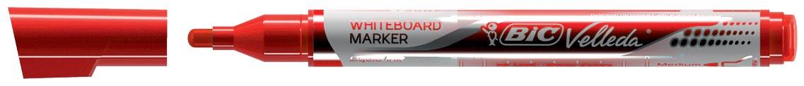 Velleda Whiteboardmarker Liquid Ink Pocket rood