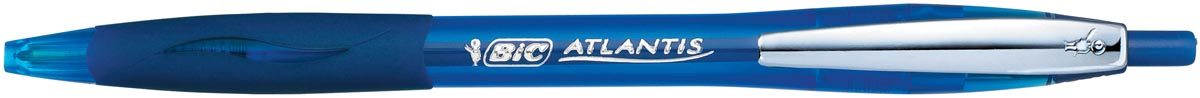 Bic balpen Atlantis Soft 1 mm, blauw