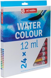 Talens Art Creation aquarelverf tube van 12 ml, set van 24 tubes in geassorteerde kleuren