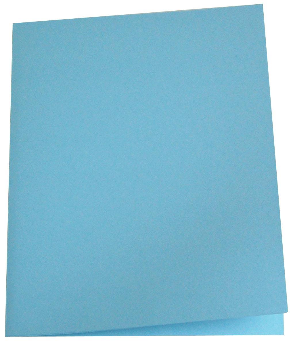 5 Star dossiermap blauw, pak van 100