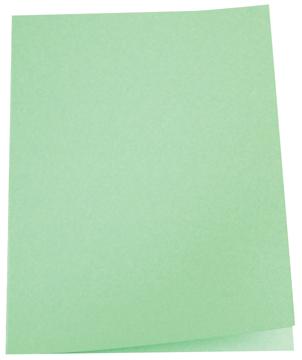 5 Star dossiermap groen, pak van 100