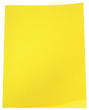 5 Star dossiermap geel, pak van 100