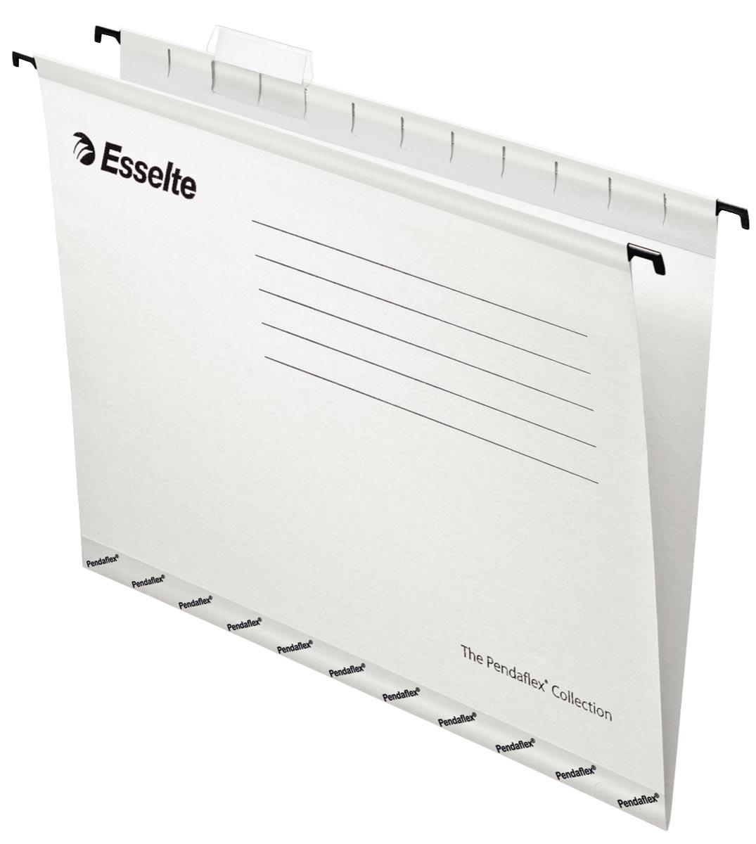 Esselte hangmappen voor laden Pendaflex Plus tussenafstand 330 mm, wit, doos van 25 stuks