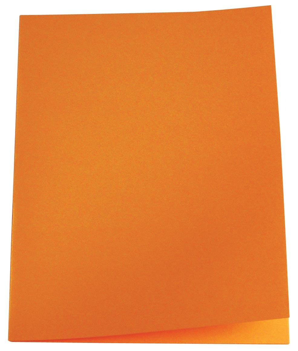 Pergamy dossiermap oranje, pak van 100
