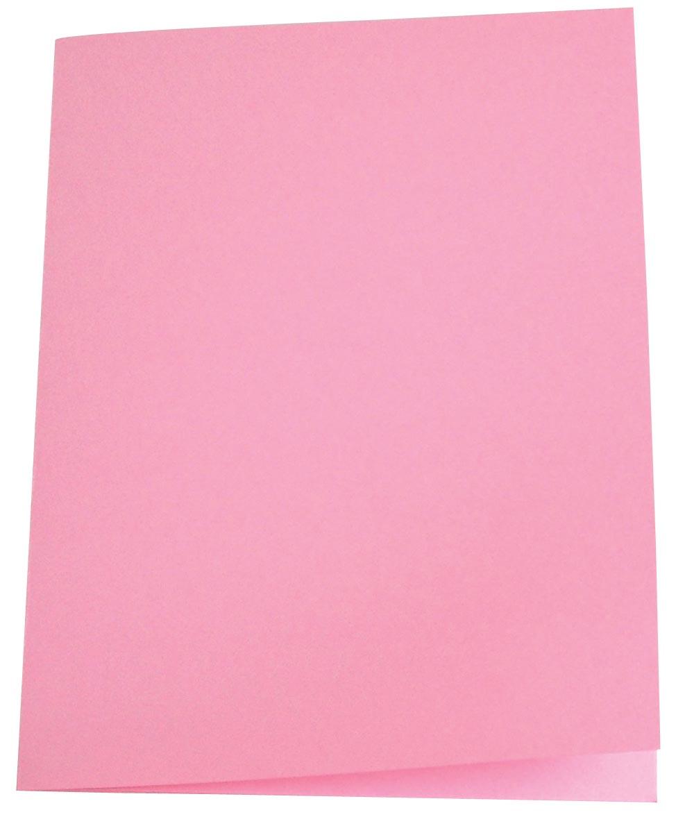 5 Star dossiermap roze, pak van 100