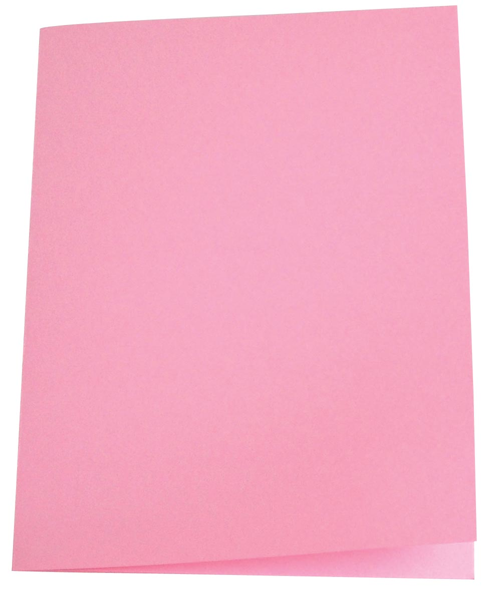 Pergamy dossiermap roze, pak van 100