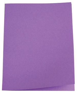 5 Star dossiermap lila, pak van 100
