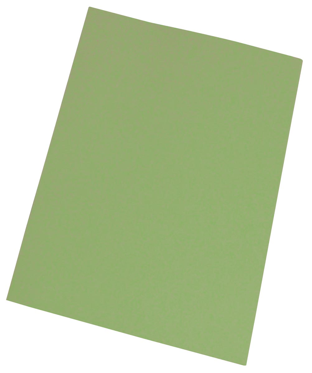 Pergamy inlegmap groen, pak van 250