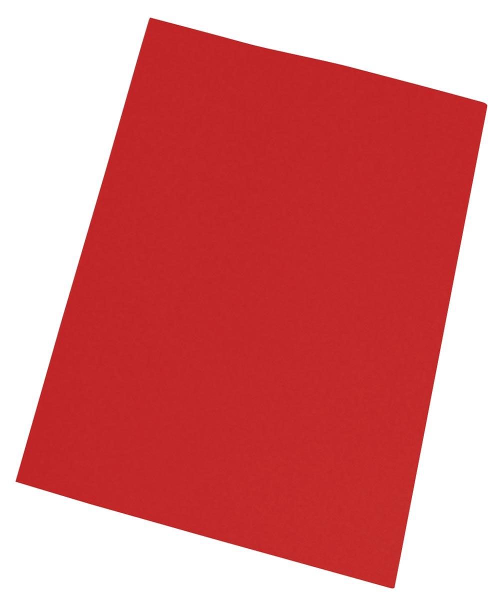 Pergamy inlegmap rood, pak van 250