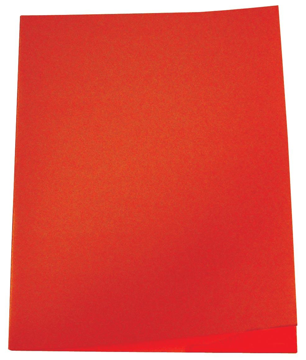 Pergamy inlegmap oranje, pak van 250